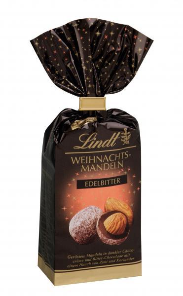 Lindt Weihnachts-Mandeln Edelbitter 70%