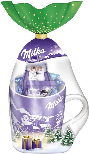 Milka Weihnachtsbecher