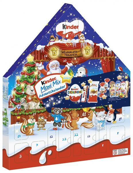 Kinder Maxi Mix Adventskalender