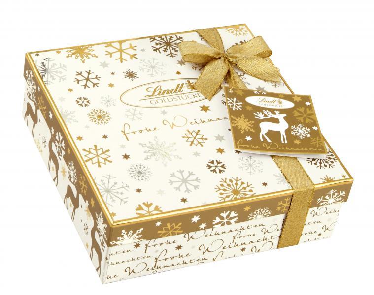 Lindt Goldstücke Frohe Weihnachten