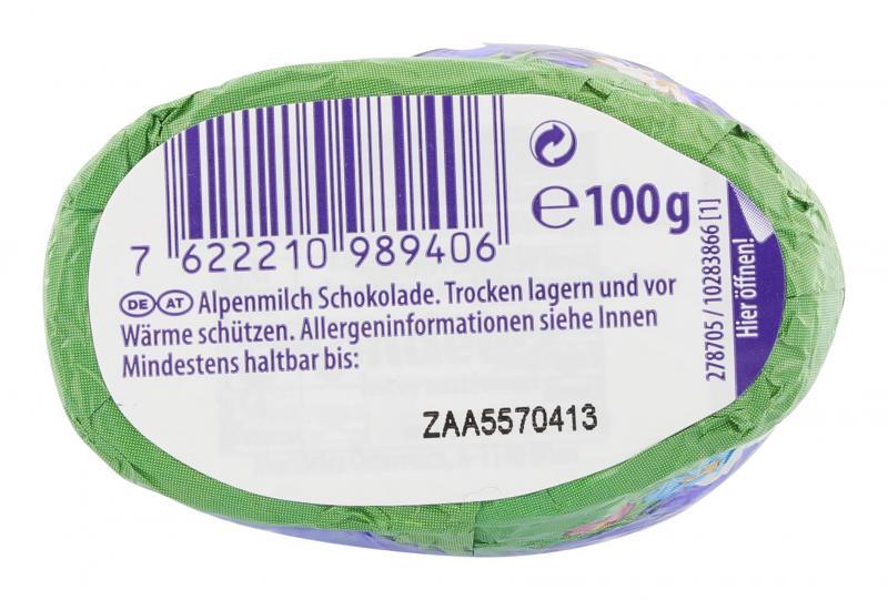 Milka Schmunzelhase Alpenmilch