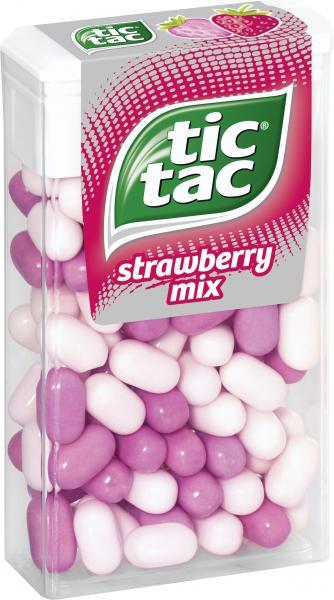 Tic Tac Strawberry Mix