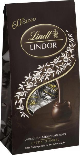 Lindt Lindor Kugel extra dunkel 60% Cacao