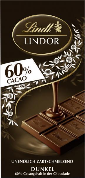 Lindt Lindor Extra dunkel 60% Cacao