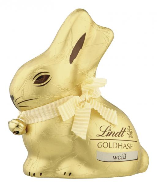 Lindt Goldhase weiß