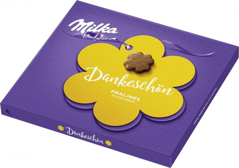 Milka Kleines Dankeschön Pralinés Milchcrème