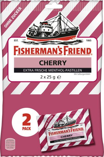Fisherman's Friend Wild Cherry ohne Zucker