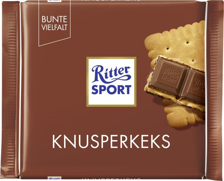 Ritter Sport Bunte Vielfalt Knusperkeks