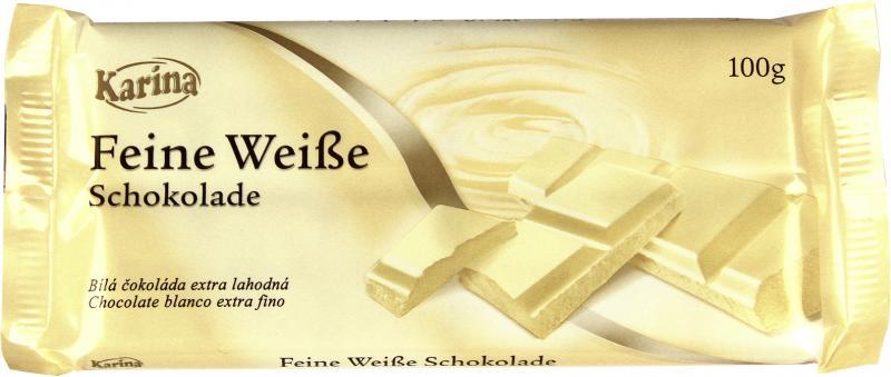 Karina Feine weiße Schokolade