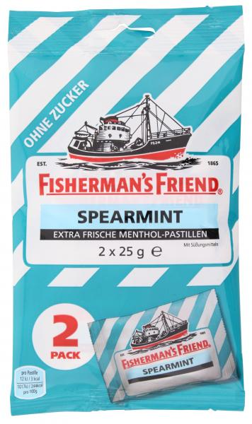 Fisherman's Friend Spearmint ohne Zucker
