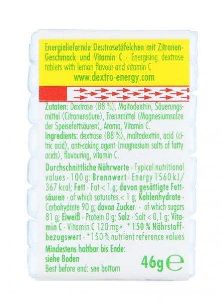 Dextro Energy Zitrone+Vitamin C