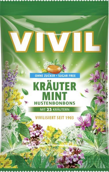 Vivil Husten Bonbons Kräuter-Mint