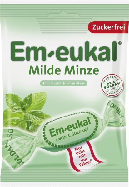 Em-eukal Hustenbonbons milde Minze zuckerfrei