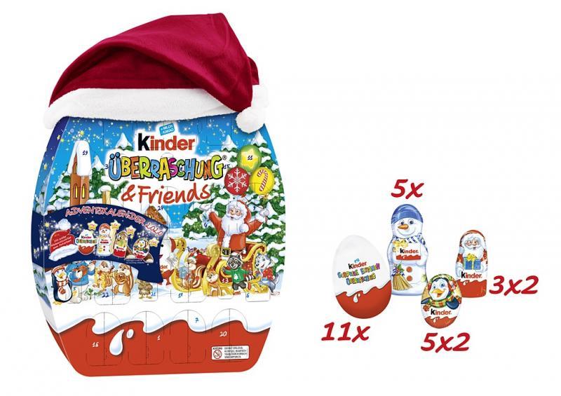 Kinder Überraschung & Friends Adventskalender