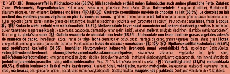 Kitkat Chunky Schokoriegel Milchschokolade