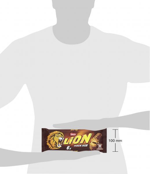 Nestlé Lion Schokoriegel mit Karamell