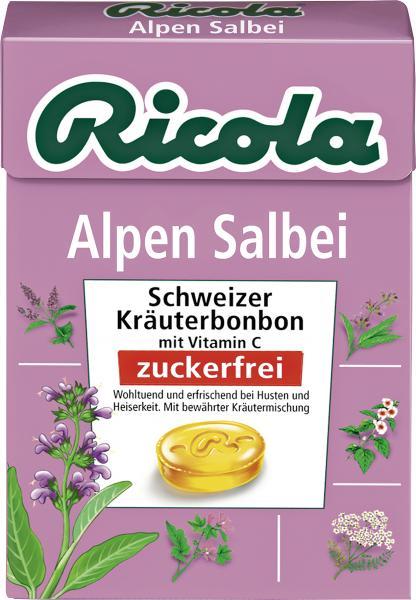 Ricola Alpen Salbei zuckerfrei