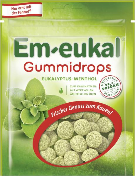 Em-eukal Gummidrops Eukalyptus-Menthol