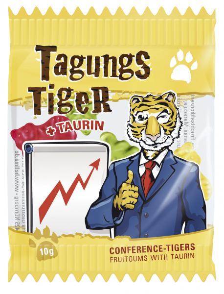 Hellma Tagungs-Tiger Fruchtgummi mit Taurin