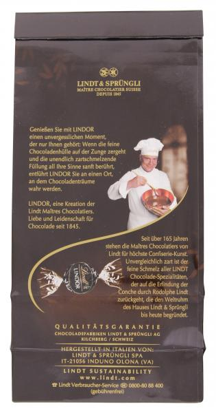 Lindt Lindor Kugeln extra dunkel 60% Cacao Probierpreis