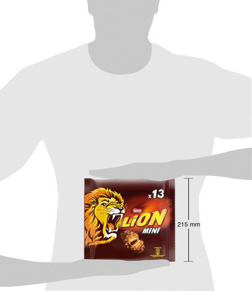 Nestlé Lion Mini Schokoriegel mit Karamell