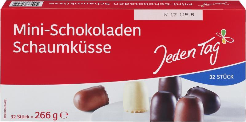 Jeden Tag Mini Schokoladen Schaumküsse