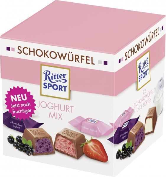 Ritter Sport Schokowürfel-Box Joghurt