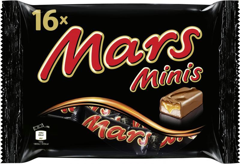 Mars Minis Beutel
