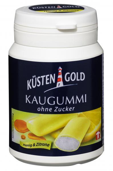 Küstengold Kaugummi Honig & Zitrone