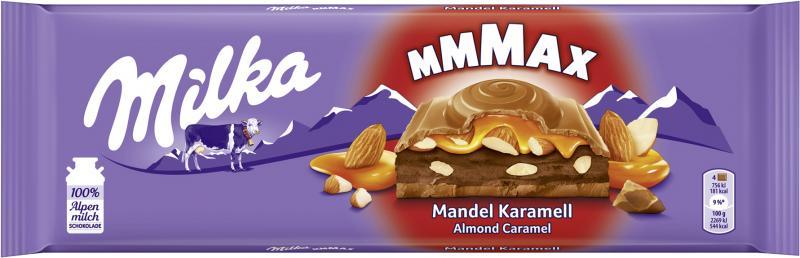 Milka Mandel Karamell