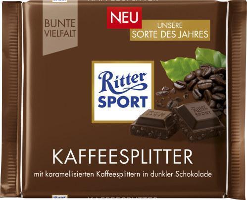Ritter Sport Bunte Vielfalt Sorte des Jahres Kaffeesplitter