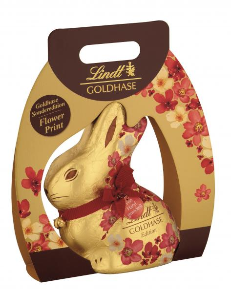 Lindt Goldhase Blumen Edition