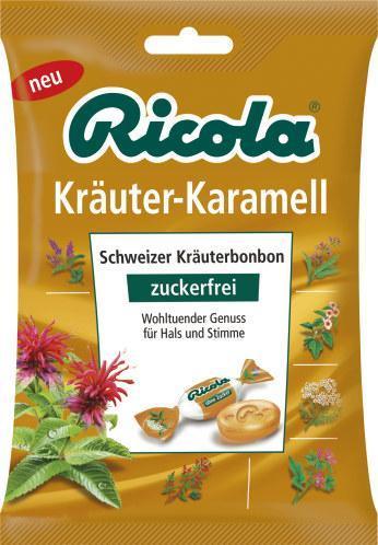 Ricola Kräuter-Karamell zuckerfrei