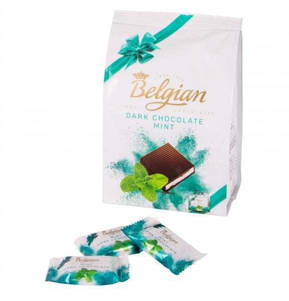 Belgian Dark Chocolate Mint Täfelchen