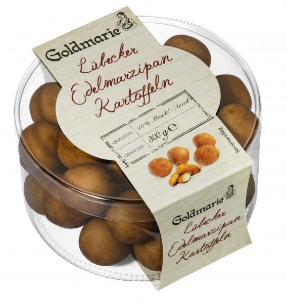 Goldmarie Lübecker Edelmarzipan Kartoffeln