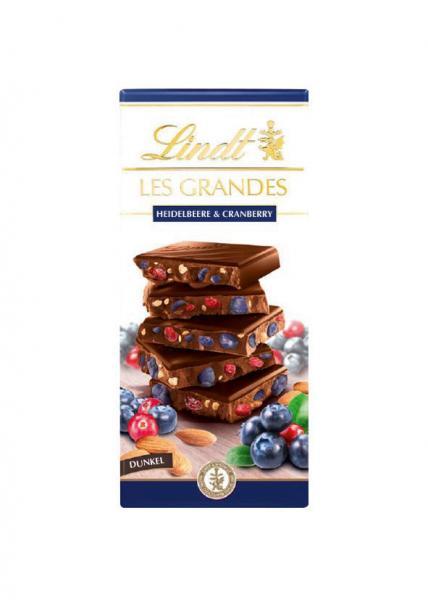 Lindt Les Grandes Heidelbeere-Cranberry
