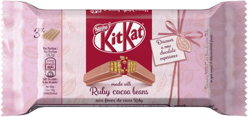 Kitkat Ruby cocoa beans 3er