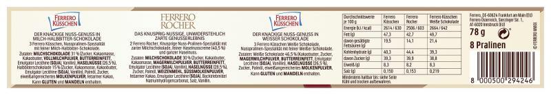 Die Besten von Ferrero Nuss Tubo