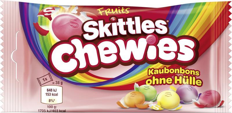 Skittles Chewies Kaubonbons