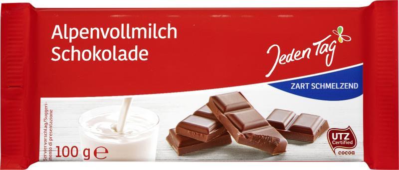 Jeden Tag Schokolade