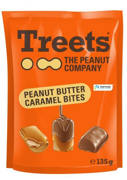 Treets The Peanut Company Peanut Butter Caramel Bites