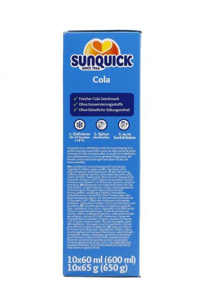 Sunquick Wassereis Cola