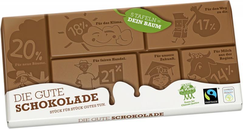 Plant for the Planet Die Gute Bio-Schokolade