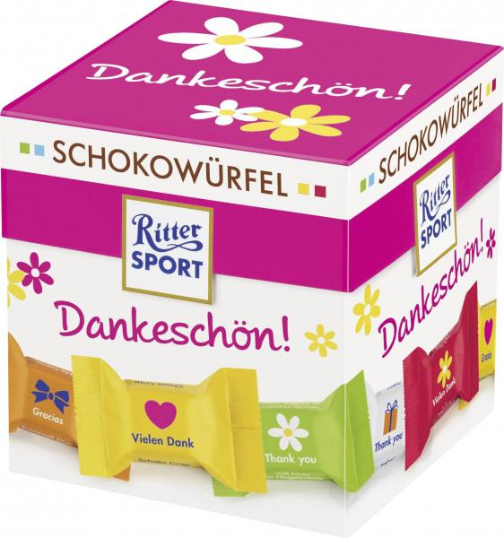 Ritter Sport Schokowürfel Dankeschön