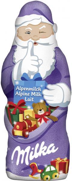 Milka Weihnachtsmann Alpenmilch