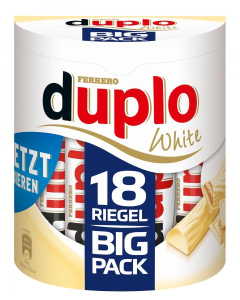 Duplo White Big Pack 18 Riegel