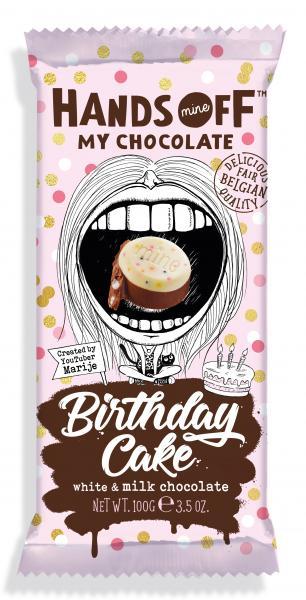 Hands Off Birthday Cake Chocolate