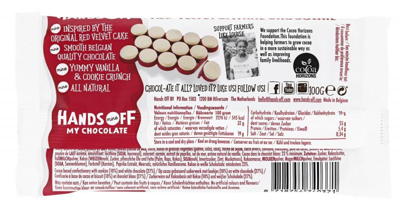 Hands Off My Chocolate Red Velvet & White Chocolate