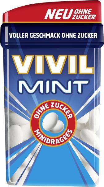 Vivil Minidragees Mint ohne Zucker