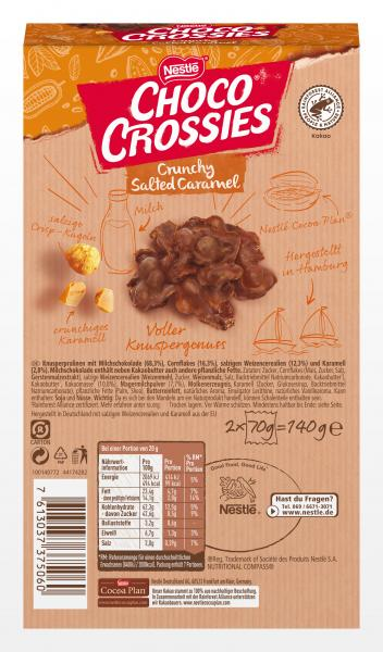 Nestlé Choco Crossies Crunchy Salted Caramel
